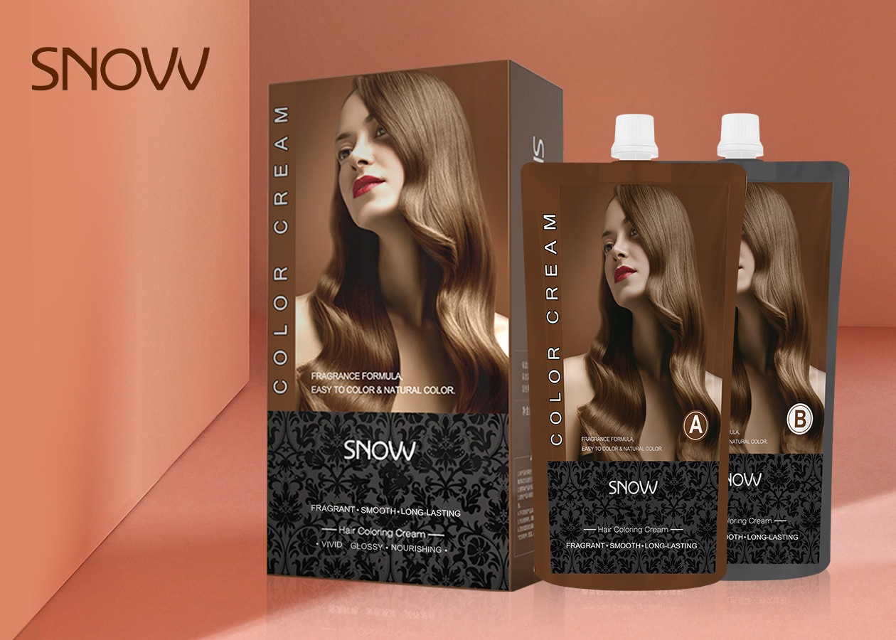 Ammonia Free Beige Blonde Hair Color Natural Herbal Hair Dye 450ml*2  For Wholesale